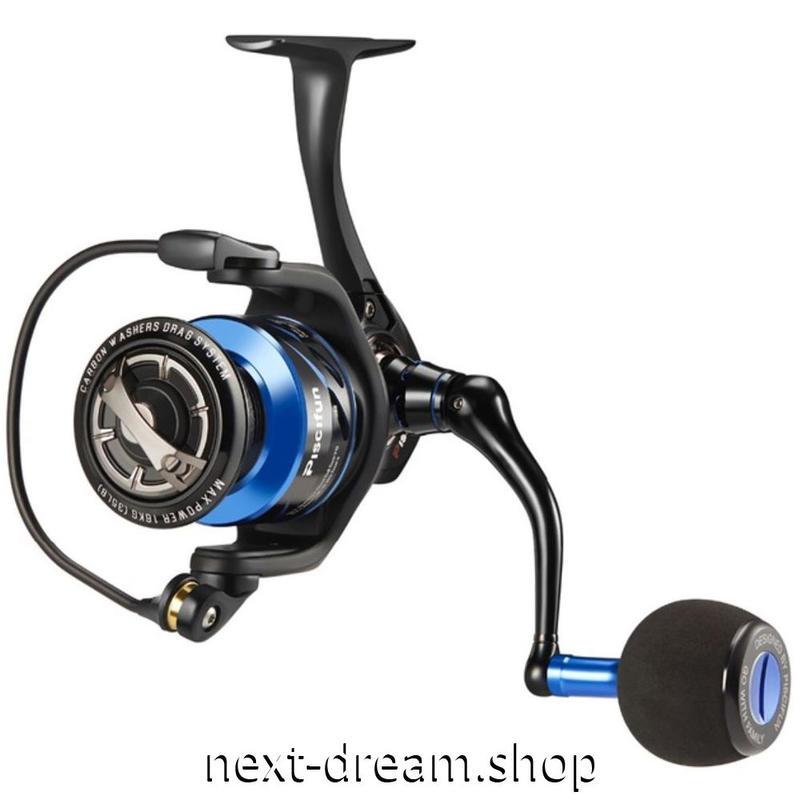 新品 スピニングリール 釣り道具 フィッシング 13BBs 高性能ベアリング 黒×青 2500 /  3000 / 4000 / 5000 / 6000番 m01941