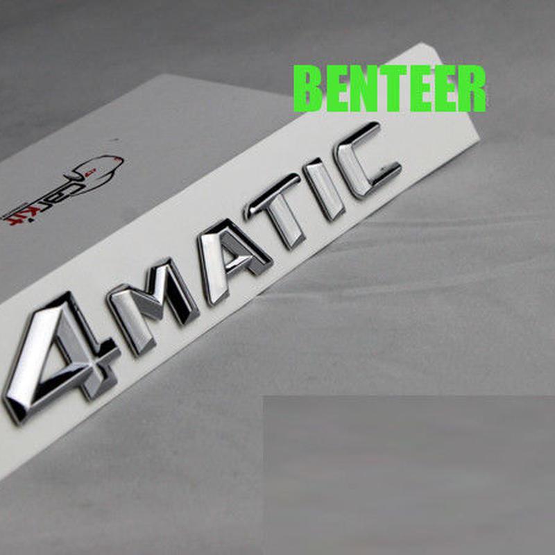 ベンツ ステッカー ボディ リア 4MATIC Mercedes benz C200L C300L C180L h00533