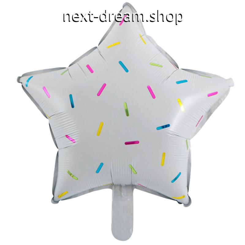 風船 18インチ 50枚パック 星型 ホワイト   飾り デコ 誕生日 結婚式 卒業 パーティ イベント  バルーン ヘリウム   m01239