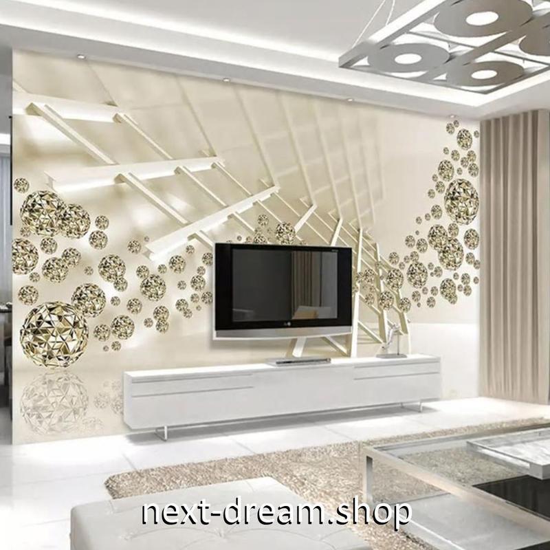 3D 壁紙 1ピース 1㎡ 立体空間 クリエイティブアート DIY リフォーム インテリア 部屋 寝室 防湿 防音 h03118