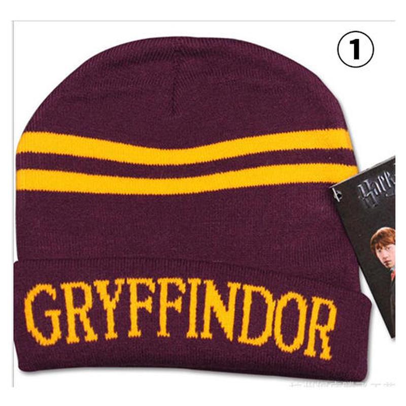 ハリーポッターのコスプレ ニット帽 ビーニー ニットキャップ Harry Potter Gryffindor u00008