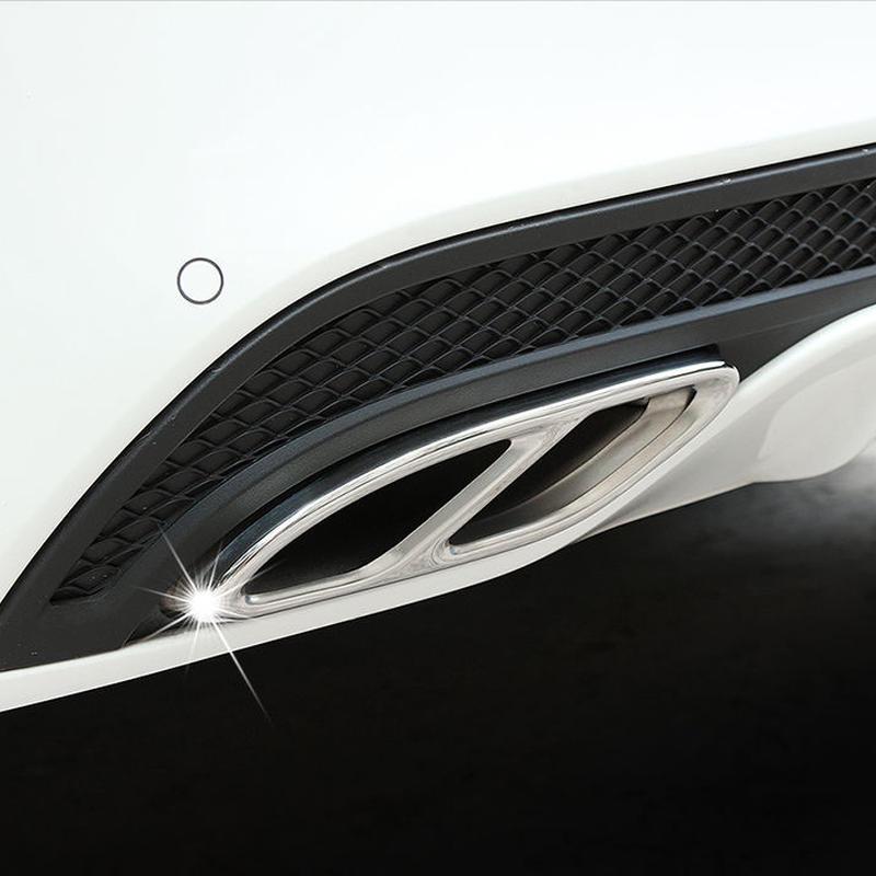 メルセデス ベンツ マフラー カバー W205 glc w246 w213 w176 ステンレス
