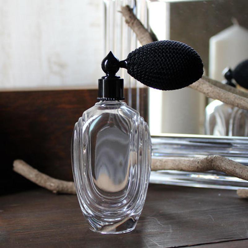 フランス製ボトル ガラスアトマイザー 369853 CLBK(ブラック)【メンズ 香水 フレグランス アロマ ヴィンテージ インテリア】