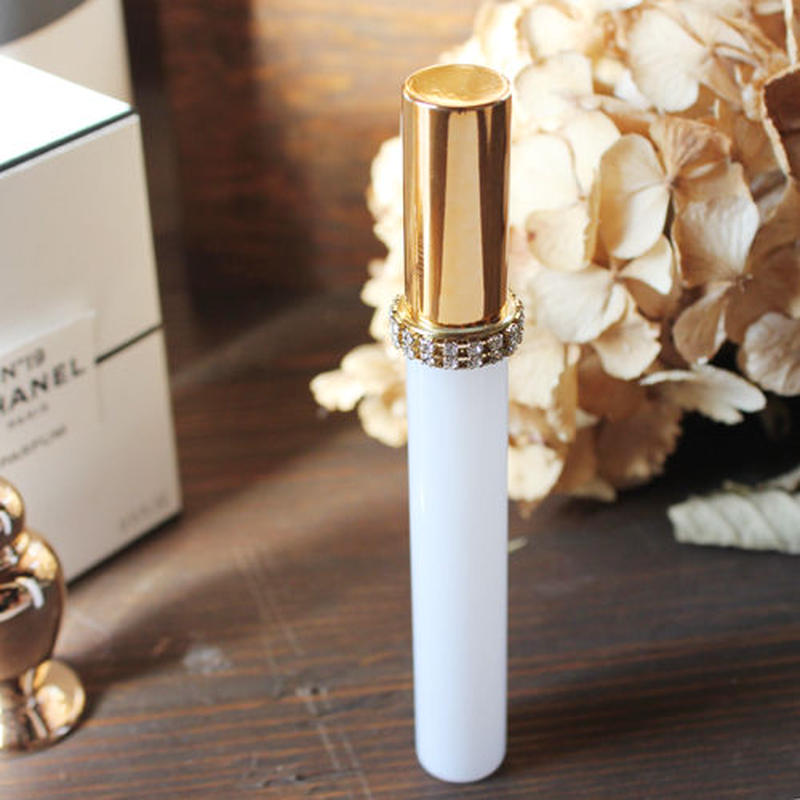 10ml エリザベート ホワイトアトマイザー 日本製(ゴールド)【メンズ 香水 フレグランス アロマ ヴィンテージ スワロ プレゼント】