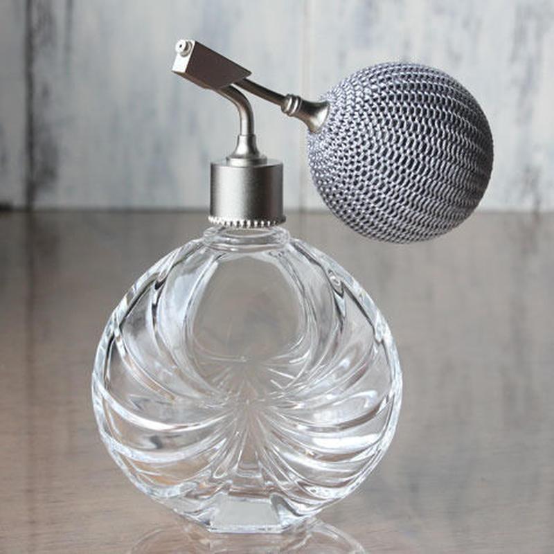 フランス製ボトル バルブアトマイザー 50ml 369872 CL/SV(クリアー)【香水 フレグランス アロマ 除菌 インテリア】