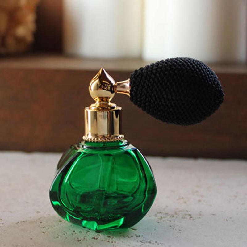 バルブアトマイザー 蕾(TUBOMI) 15ml 28239 GRBK(グリーン/ブラック)【香水 フレグランス アロマ プレゼント】