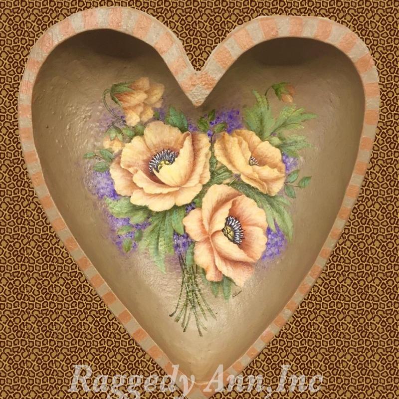 ハートボウルの花束
