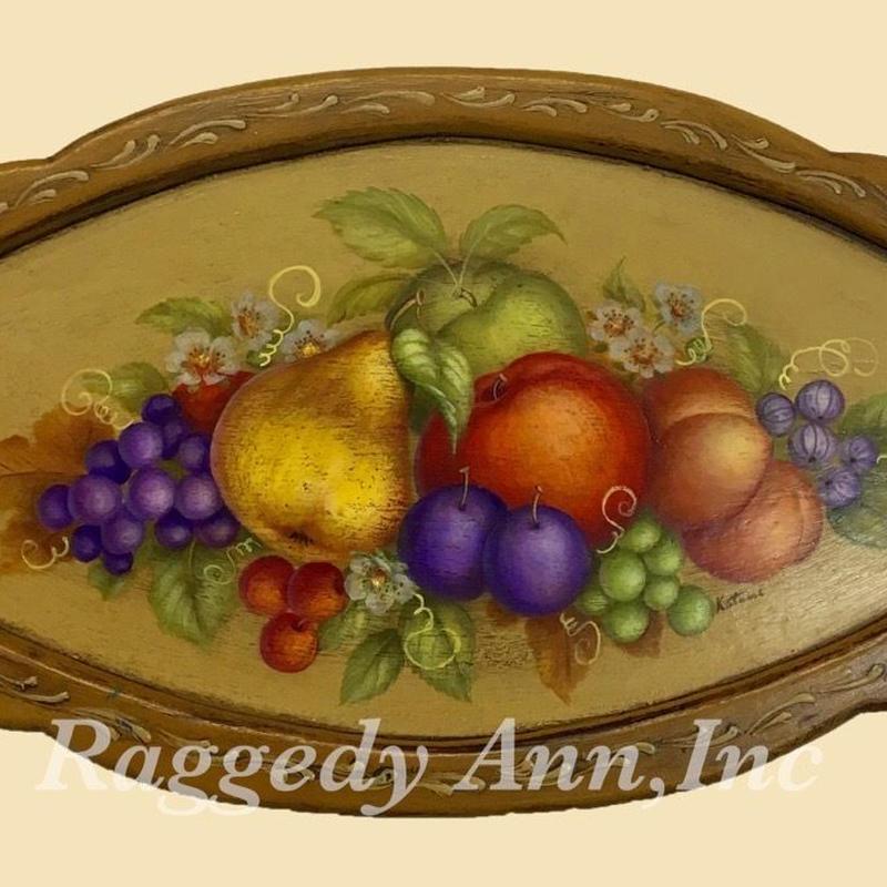 フルーツの額絵