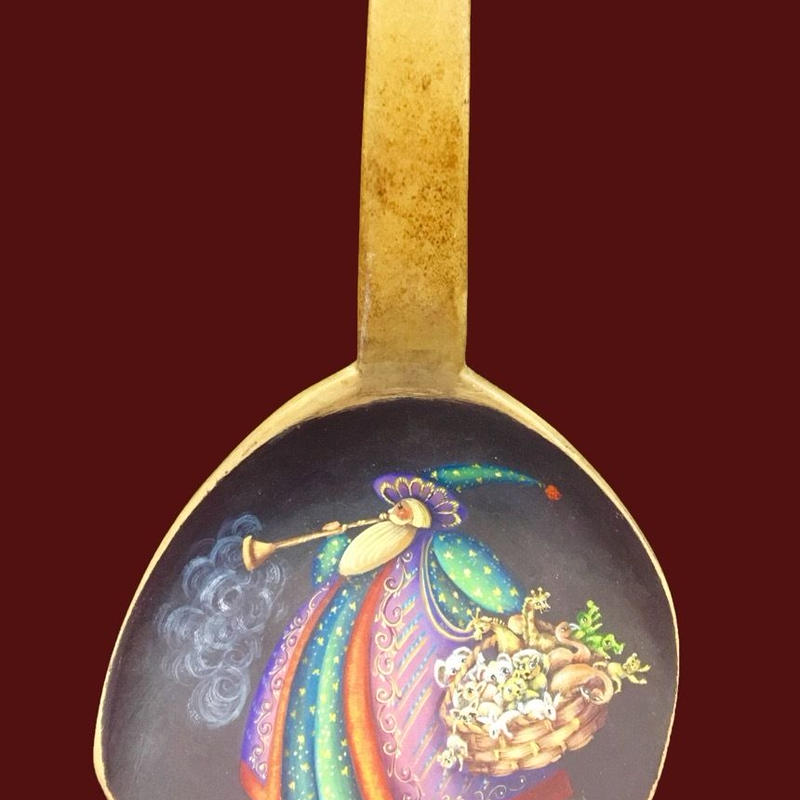 サンタクロースの描かれたスクープ
