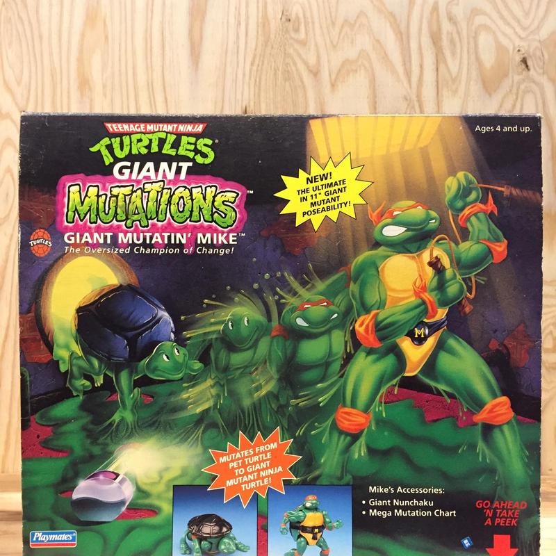 TURTLES GIANT MUTATIONS MIKE/タートルズ ジャイアント ミューテーション ミケランジェロ