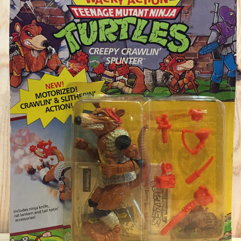 TURTLES(CREEPY CRAWLIN SPLINTER)