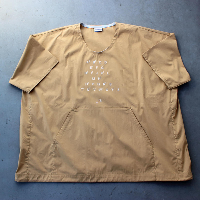 _16 オーバープルオーバー / beige