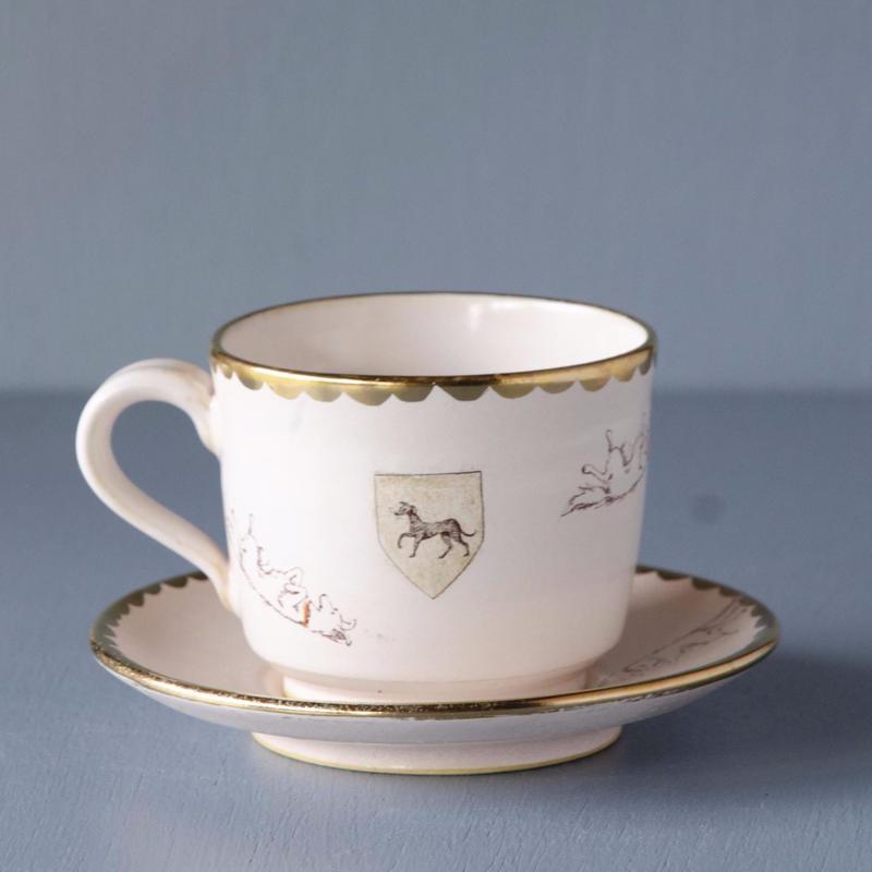 ゴロゴロ犬のカップ&ソーサー