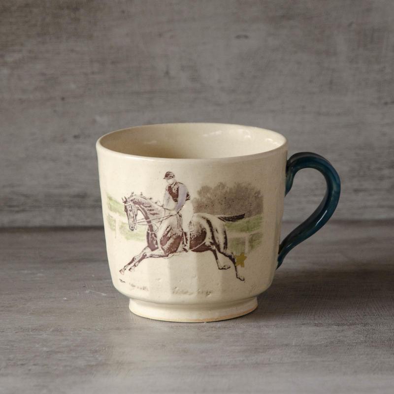 騎手のマグカップ