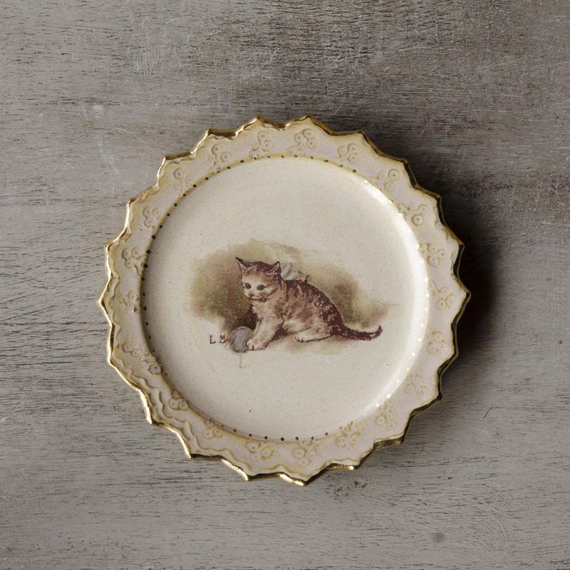 子猫の小皿