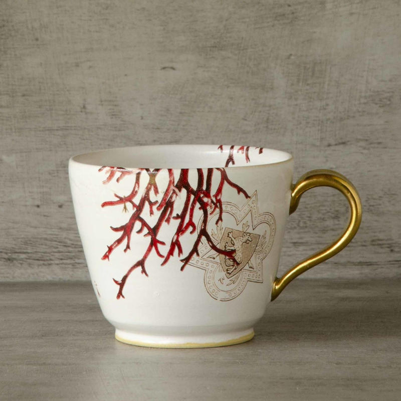 珊瑚のマグカップ