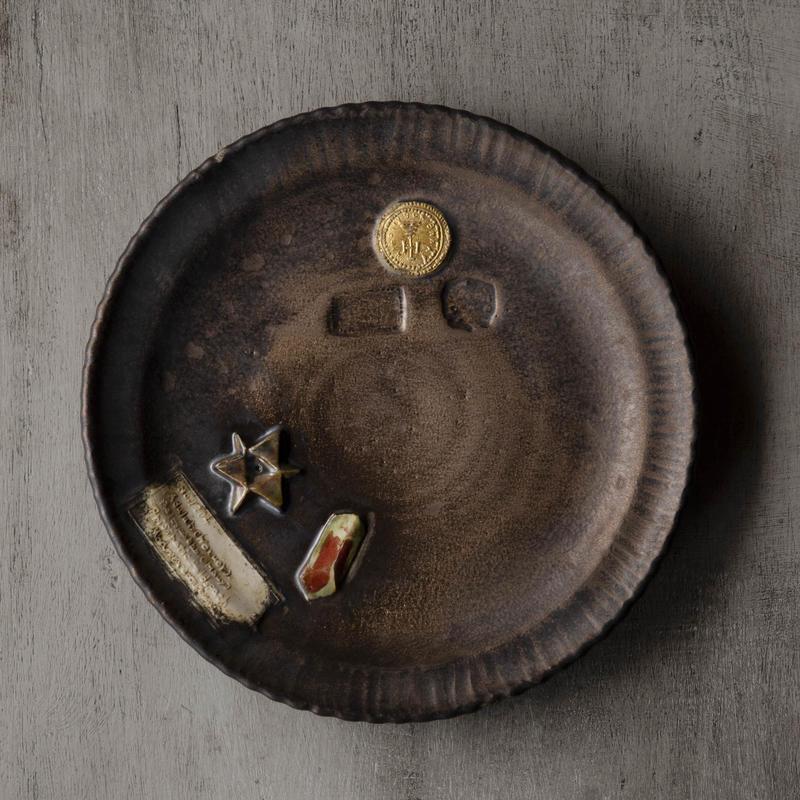 鉱石のお皿-1