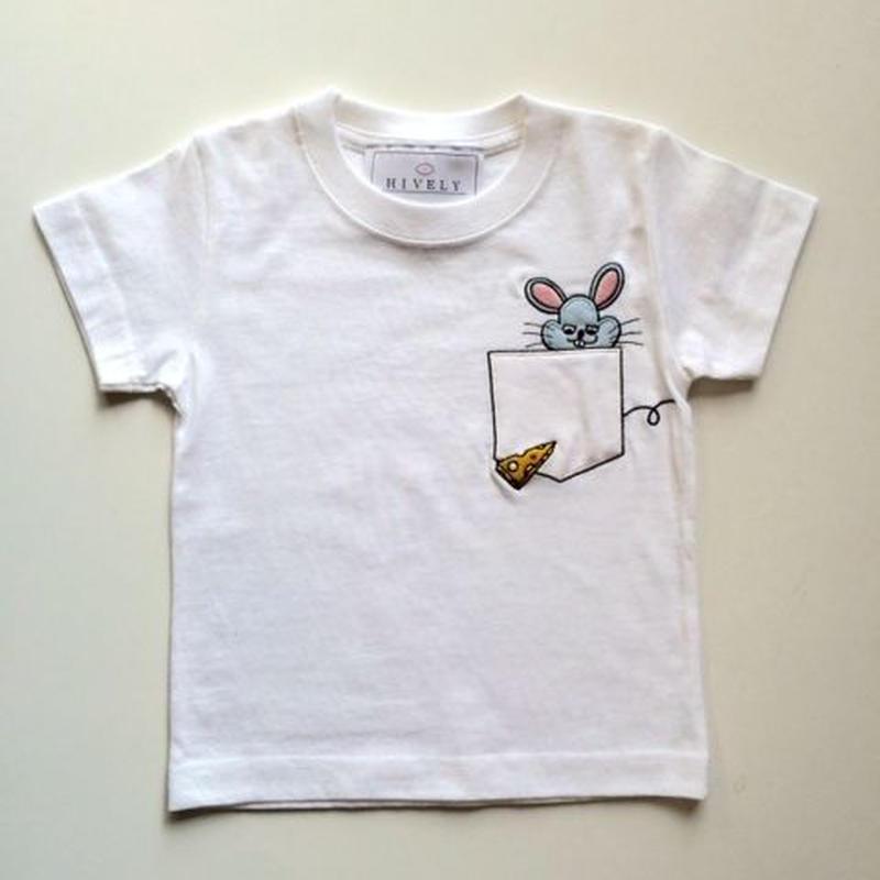 MOUSE LADYS/MENS Tシャツ White