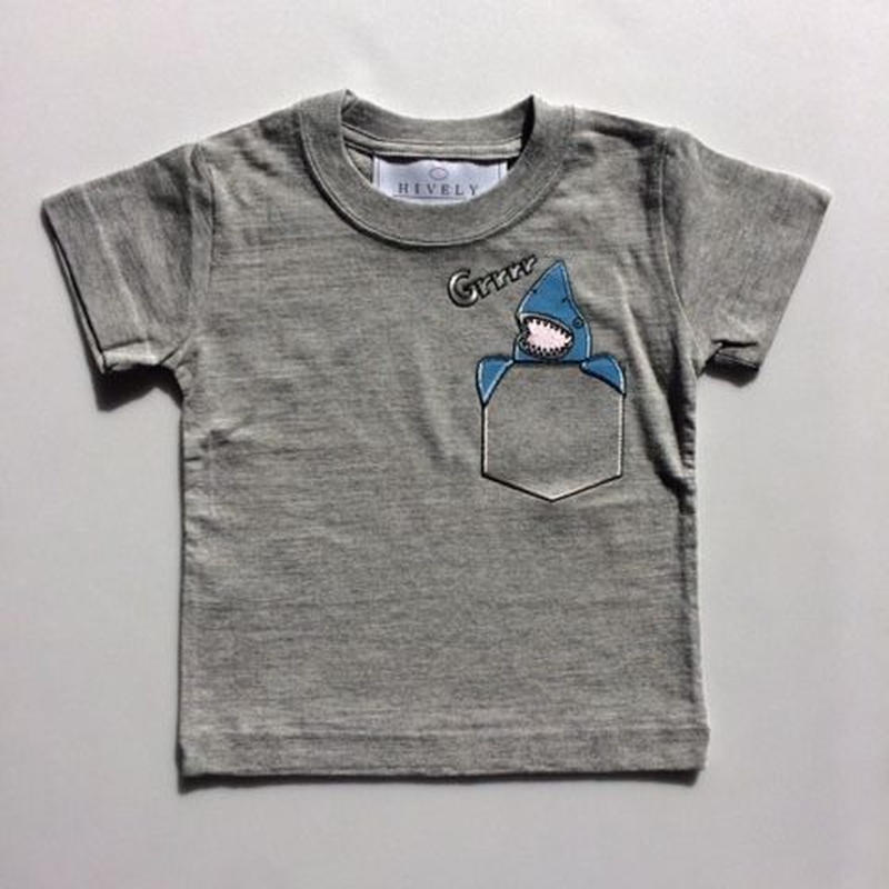 SHARK LADYS/MENSTシャツ gray