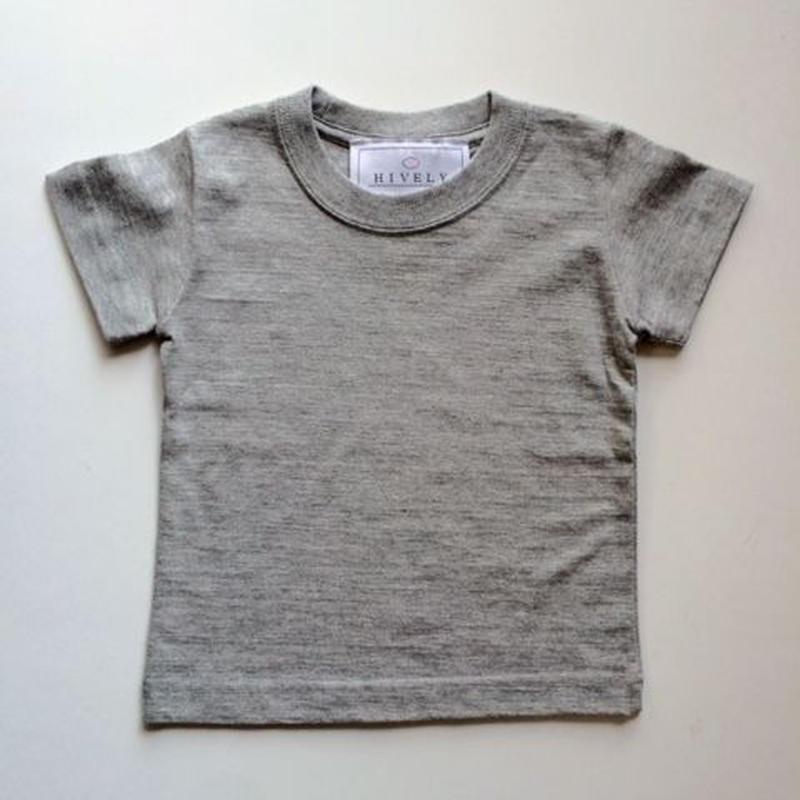 無地Tシャツ gray