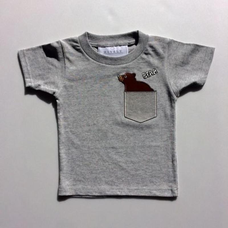 BEARLADYS/MENSTシャツ gray
