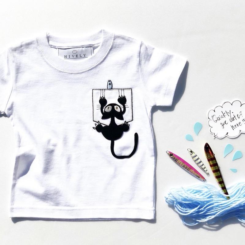 CAT KIDS Tシャツ White