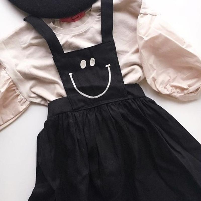 smile apron one piece / 100-110