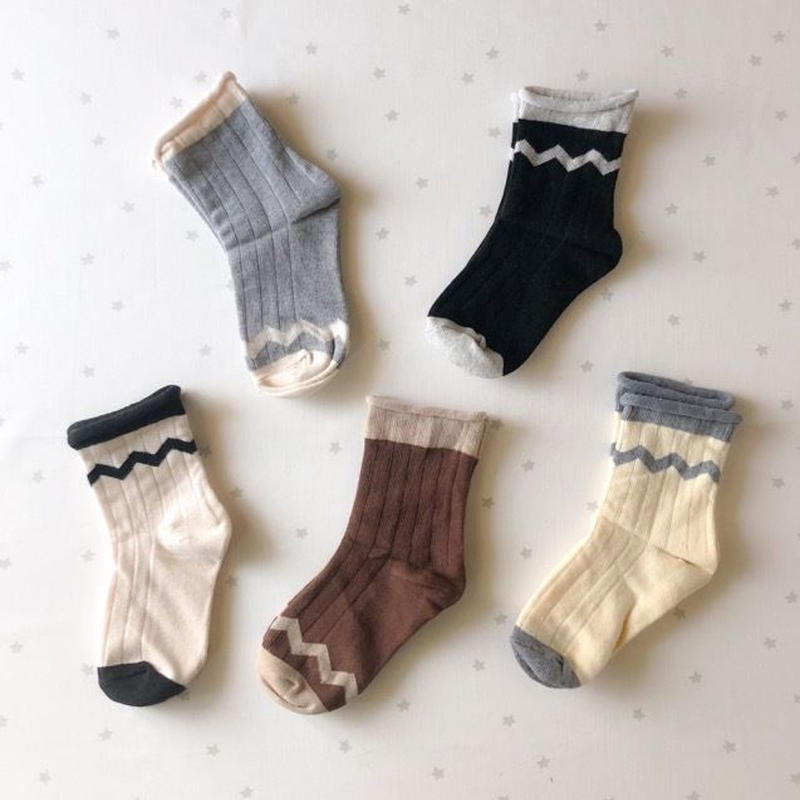 gizagiza ancle socks 5set