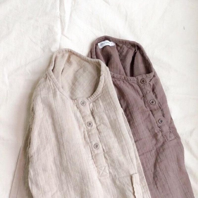 weave double blouse