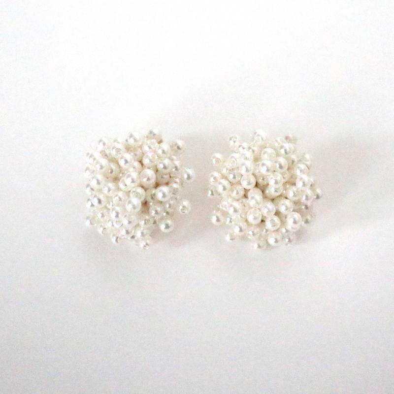 Flower Like Pearl earring