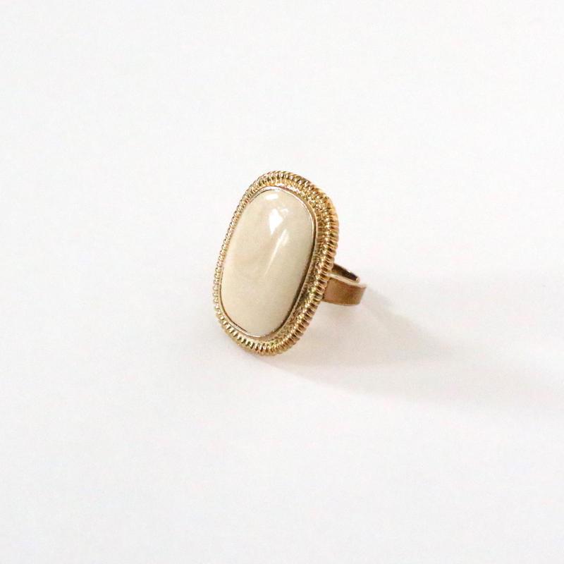 Stone Like Big ring