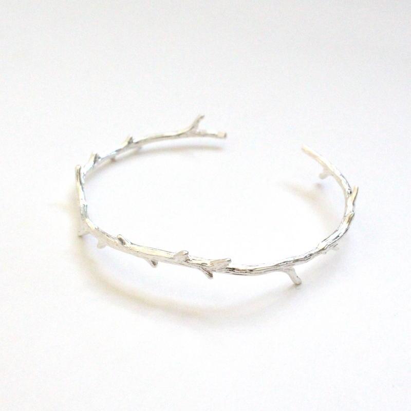 Branch Silver bangle