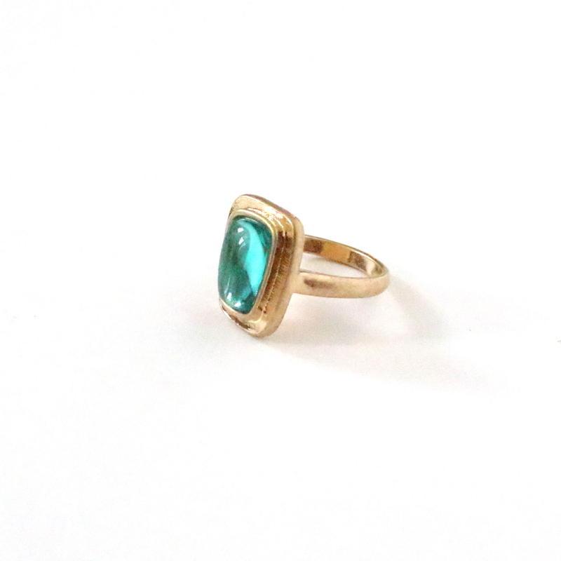 Trapezoid Stone ring