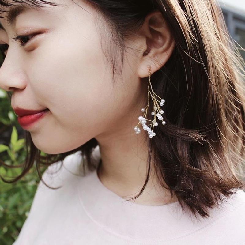 Pearl branch pierce(earing)