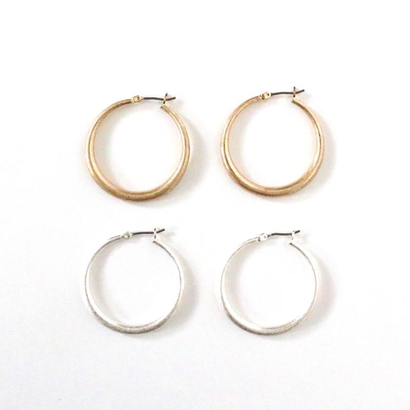 Circle hoop pierce