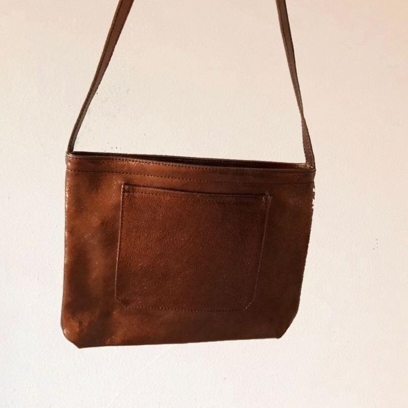 イタリアンレザー サコッシュ Itarian leather pochette Marom