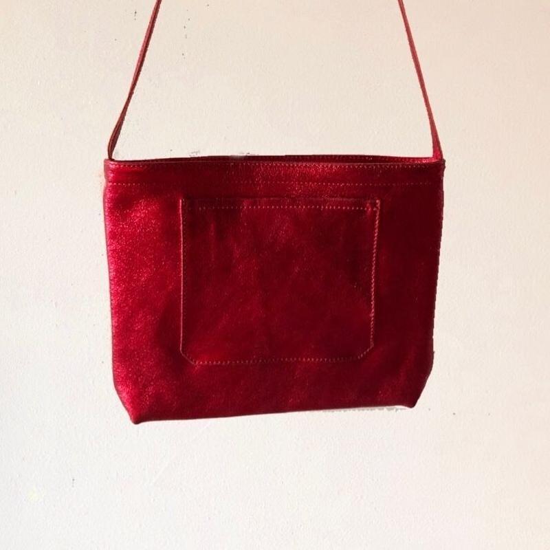 イタリアンレザー サコッシュ Itarian leather pochette