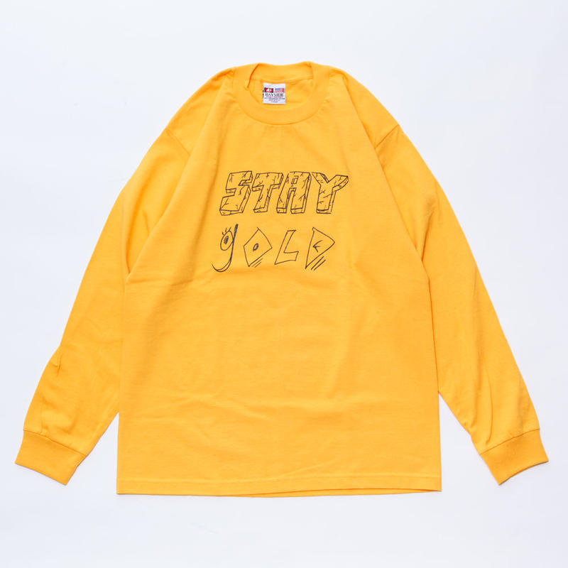 stay gold long sleeve t shirt