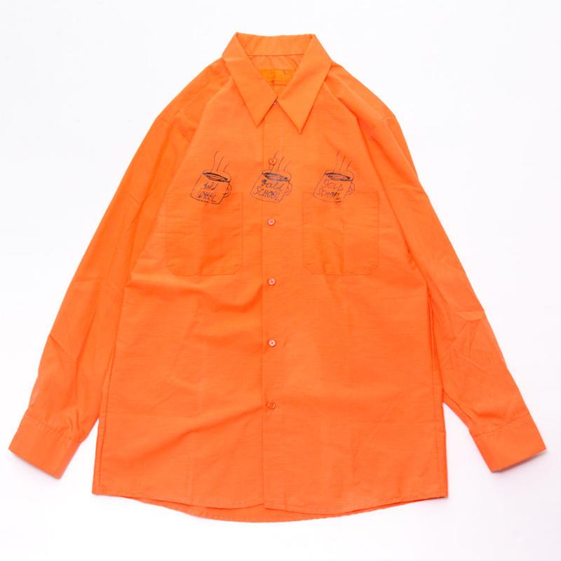 gold school prisoner shirt