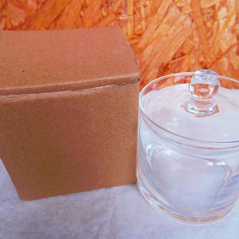 ■テラリウムガラス容器 蓋付キャニスター Sサイズ