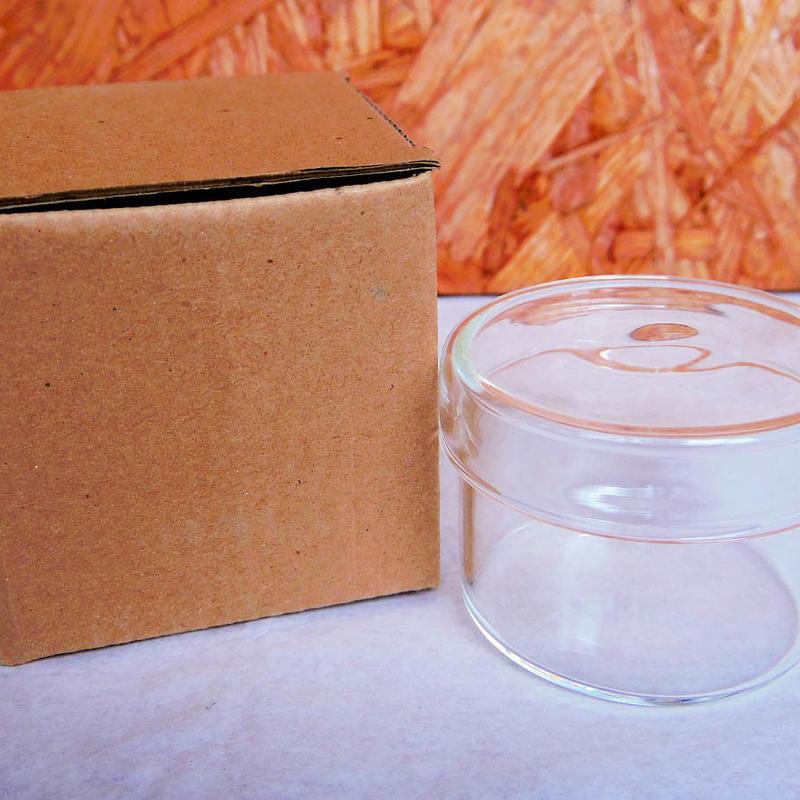 ■テラリウムガラス容器 蓋付カップ Sサイズ