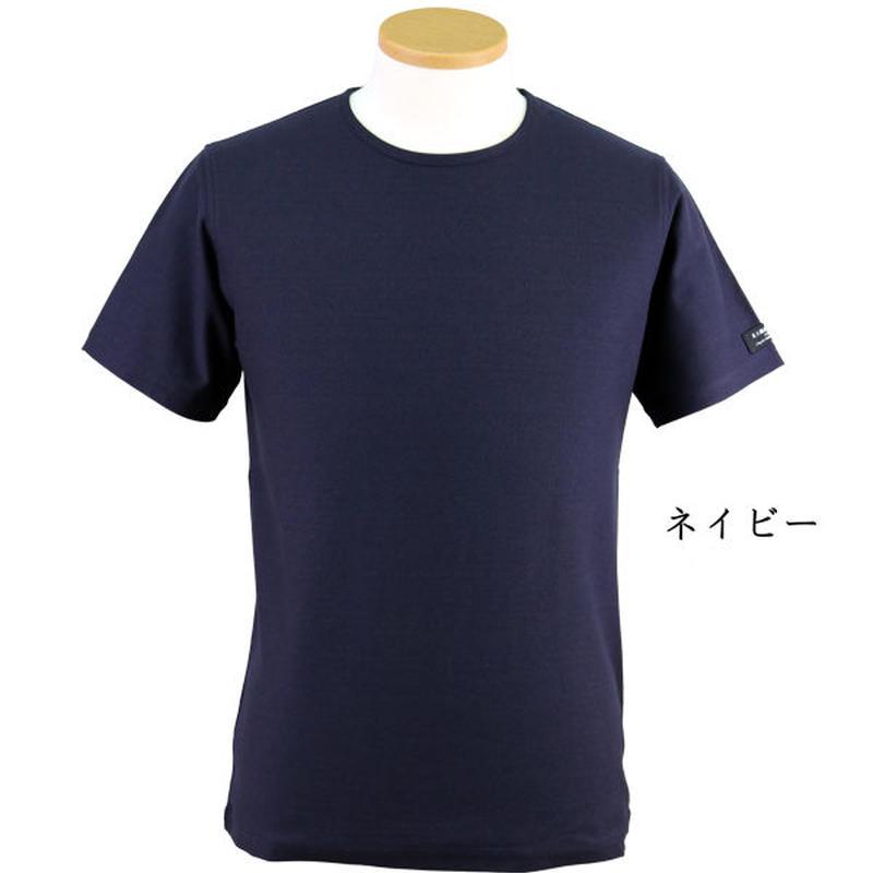 HOFI-002 インド超長綿天竺 丸首Tシャツ(メンズ)
