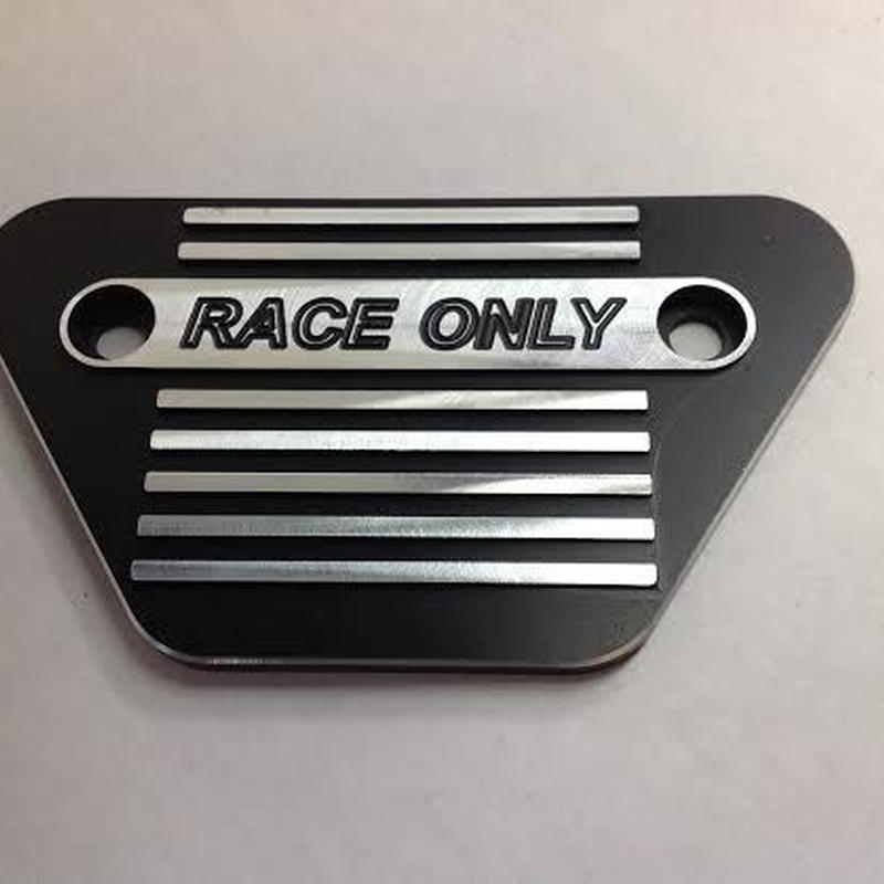 """RACE ONLY"" side plate for FXR FXRT FXRD"