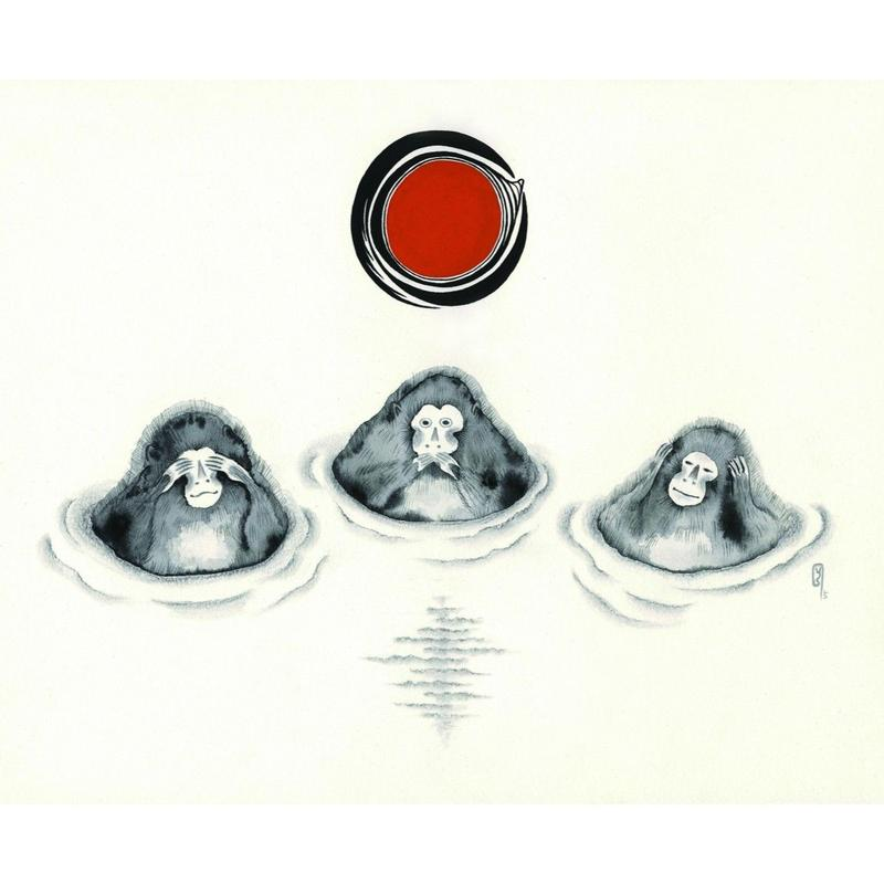 Three Wise Monkeys / 三申 - 下條ユリ