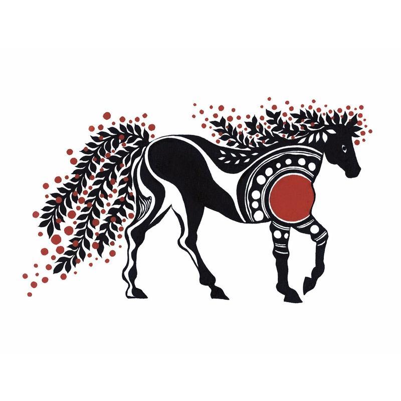 Horse / 馬 - 下條ユリ