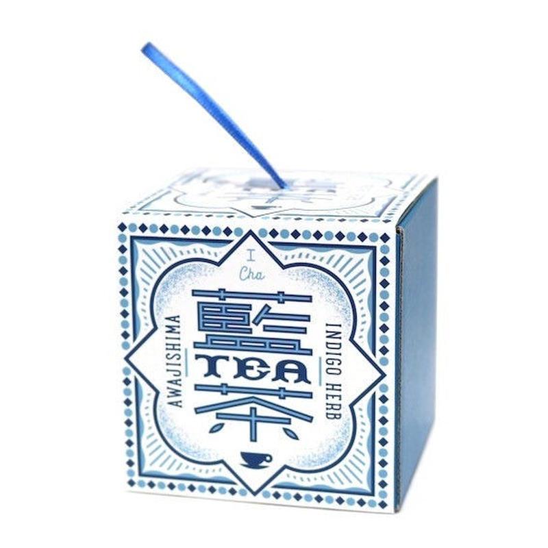 ナチュラル藍茶