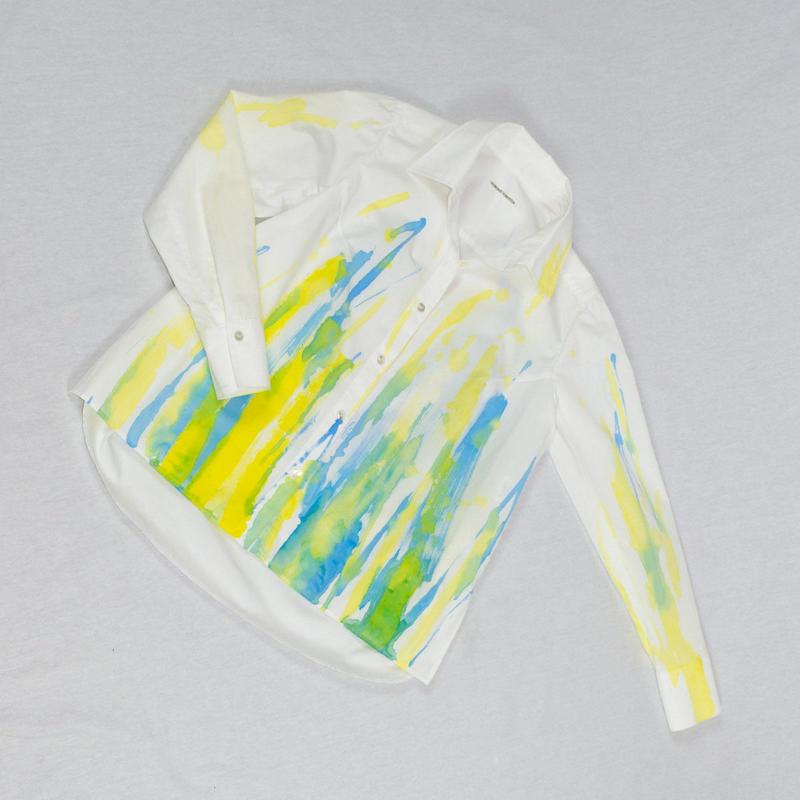 471-1101|アートペイントシャツ- A柄