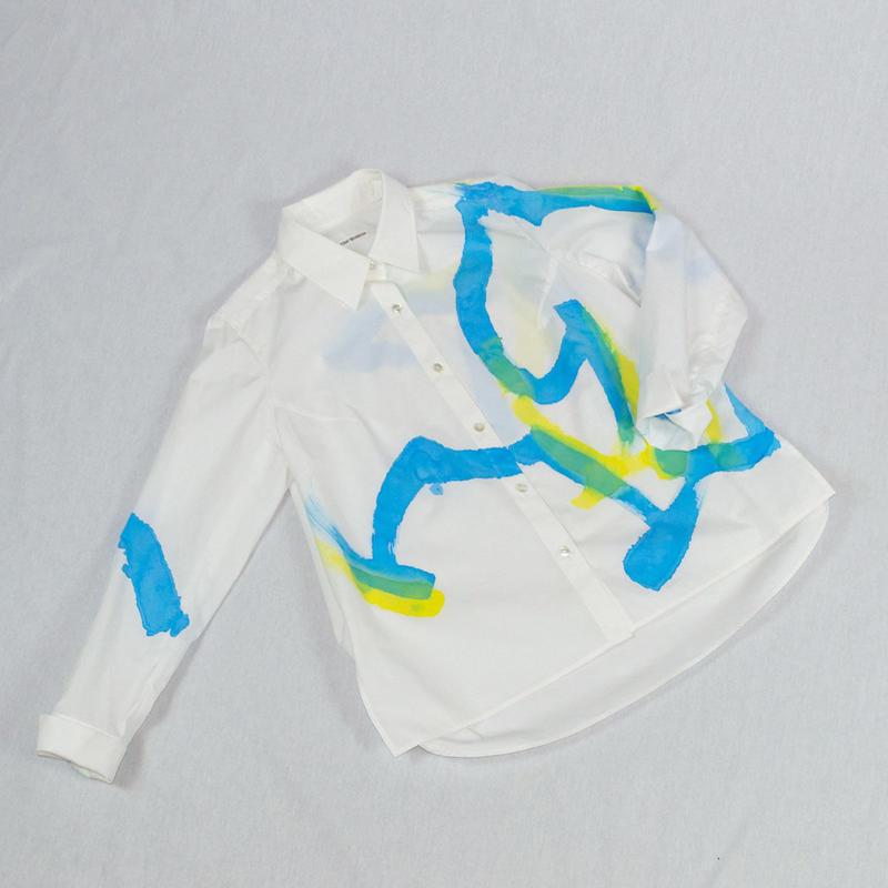 471-1101|アートペイントシャツ- B柄