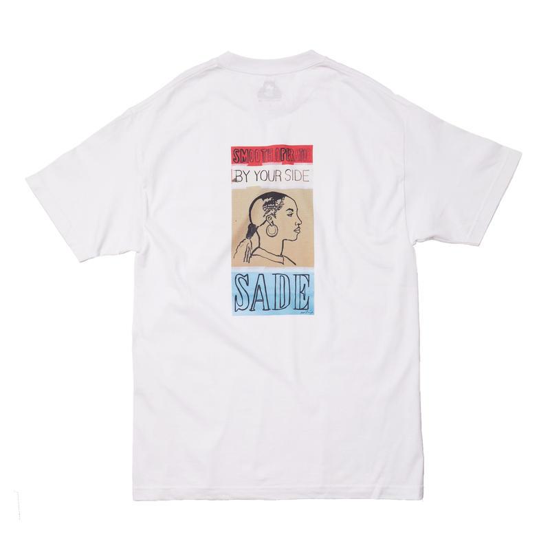 SADE TEE / WHITE