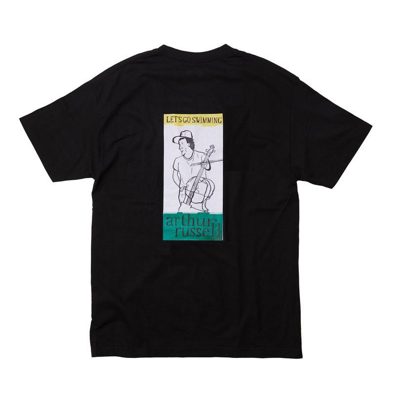 ARTHUR RUSSEL TEE / BLACK